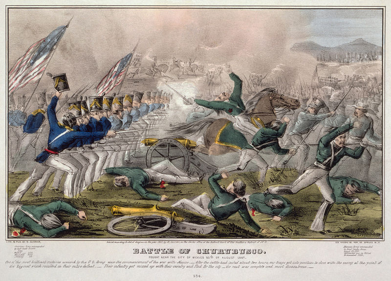 Battle of Churubusco August 1847